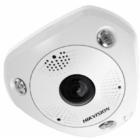 Hikvision DS-2CD6365G0-IVS 6 MP 360° vandálbiztos IR Smart IP panorámakamera hang/riasztás be-/kimenet