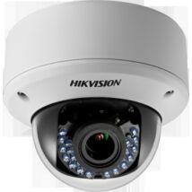 Hikvision DS-2CE56C0T-VPIR3F 1 MP THD varifokális vandálbiztos IR dómkamera; TVI/AHD/CVI/CVBS kimenet