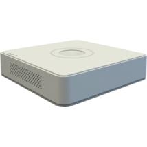 Hikvision DS-7104HQHI-K1(B) 4 csatornás Turbo HD DVR; 4MP lite@15fps; 1080p lite@25fps; 1080p@15fps; max.6×6MP IP