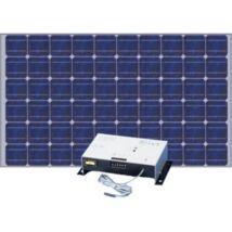 Napelemes rendszer kültéri riasztórendszerek, kamerák táplálására (250W)
