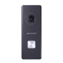 Hikvision DS-KB6403-WIP Egylakásos 2 MP IP video-kapucsengő kültéri egység; műanyag; IR-megvilágítás; 12VDC
