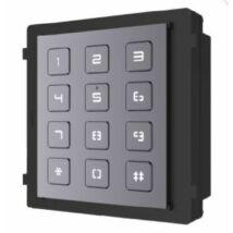 HIKVISION DS-KD-KP Társasházi IP video-kaputelefon kültéri billentyűzet/tasztatúra modulegység