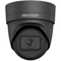 Hikvision DS-2CD2H45FWD-IZS-B 4 MP WDR motoros zoom EXIR IP dómkamera; hang be- és kimenet; fekete
