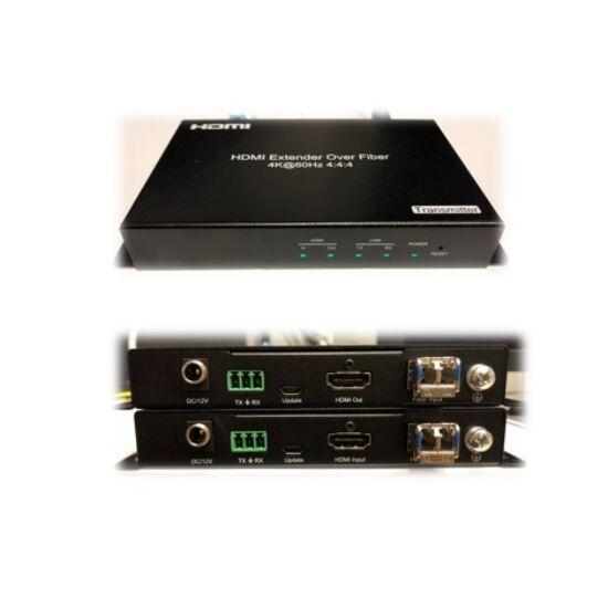 Optikai HDMI extender VAEXH4K-FIB60