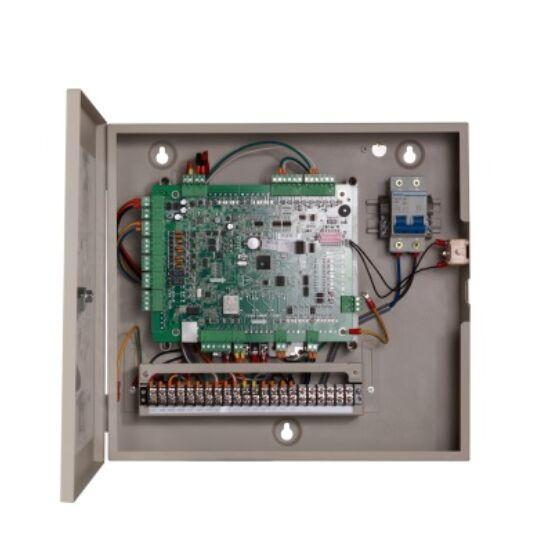Hikvision DS-K2601 Ajtóvezérlő 1 ajtóhoz; két irány; 2 Wiegand és 2 RS485 olvasó; 4/2 alarm/esemény be- és 1 alarm relé