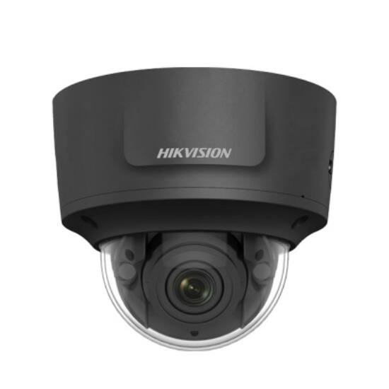 Hikvision DS-2CD2743G1-IZS-B (2.8-12mm) 4 MP WDR motoros zoom EXIR IP dómkamera; hang ki- és bemenet; fekete