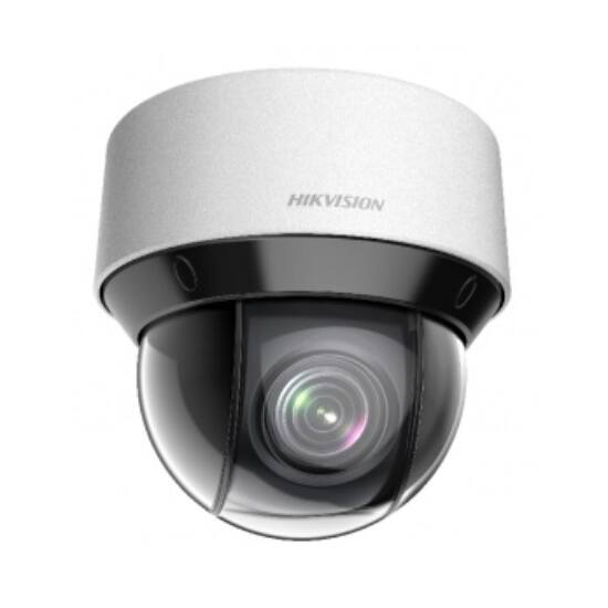 Hikvision DS-2DE4A404IW-DE (2.8-12mm) 4 MP DarkFighter IR IP mini PTZ dómkamera; 4x zoom; 12 VDC/PoE+
