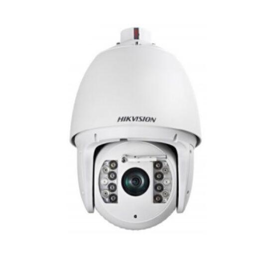 Hikvision DS-2DF7232IX-AELW 2 MP WDR IR IP PTZ dómkamera; 32× zoom; 24 VAC/HiPoE; ablaktörlővel