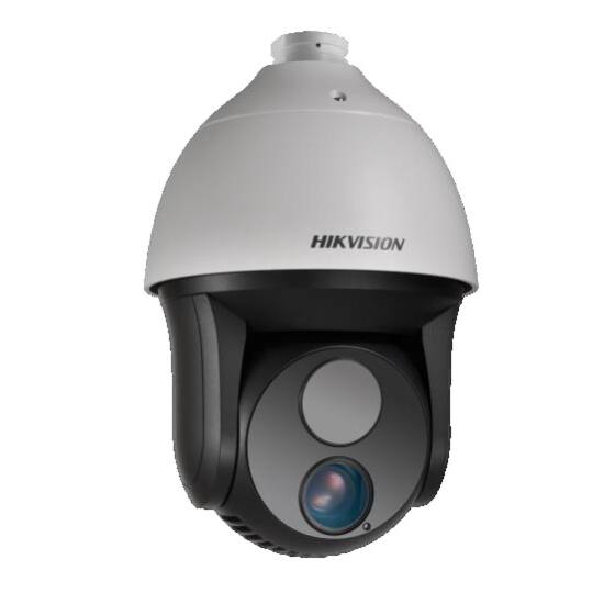 Hikvision DS-2TD4035D-25 IP hőkamera és 2 MP WDR EXIR színes PTZ kamera