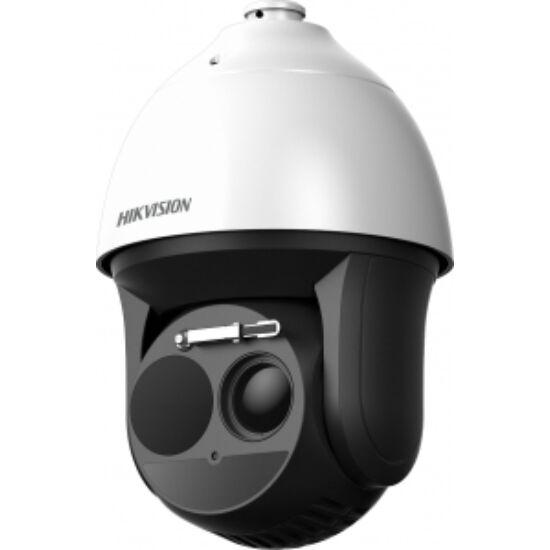 Hikvision DS-2TD4136-25 IP hőkamera és 2 MP WDR EXIR színes PTZ kamera