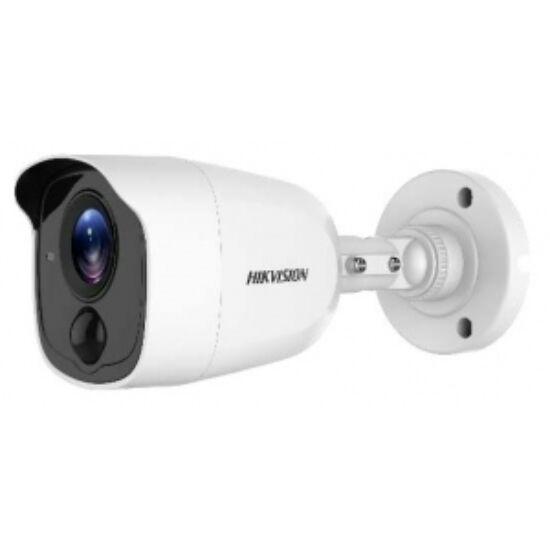 Hikvision DS-2CE11D0T-PIRL 2 MP THD fix EXIR csőkamera; OSD menüvel; PIR mozgásérzékelővel