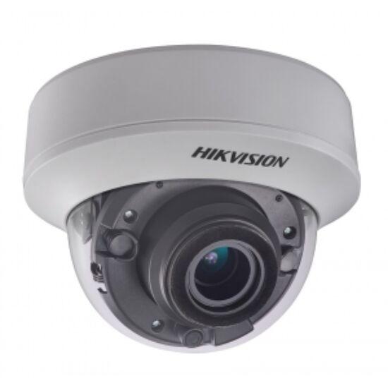 Hikvision DS-2CE56H0T-AVPIT3ZF(2.7-13.5) 5 MP THD motoros zoom EXIR dómkamera; OSD menüvel; TVI/AHD/CVI/CVBS kimenet