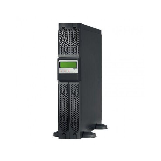 Legrand szünetmentes torony/rack - KEOR LINE RT 3000VA, BE: C20 KI: 8xC13+1xC19, USB + RS232 SNMPslot, vonali interaktív