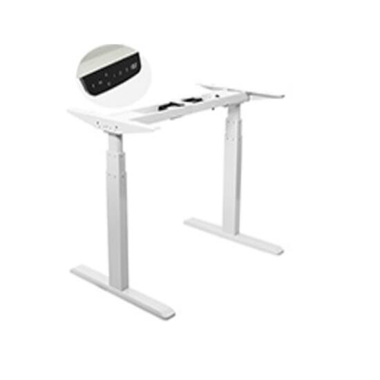 Állítható magasságú  (65-123cm) motoros asztal, állítható szélességű