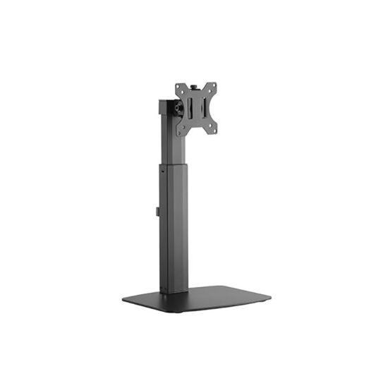Gázrugós asztali talp, 1 képernyőhöz, VESA100/75