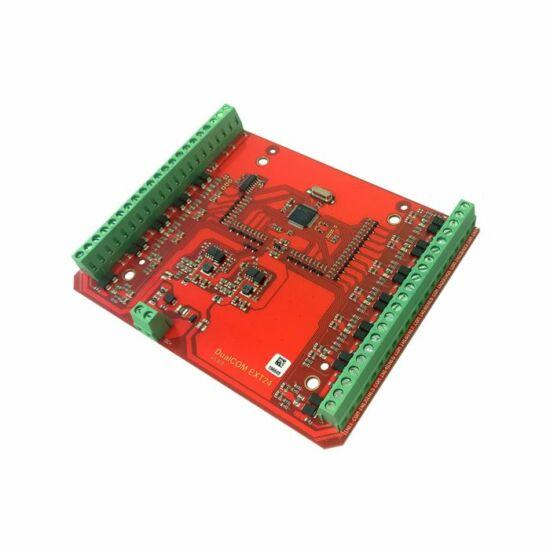 TELL DUALCOM EXT24-D 24 bemenetes bővítőmodul DUALCOM SIA IP termékhez