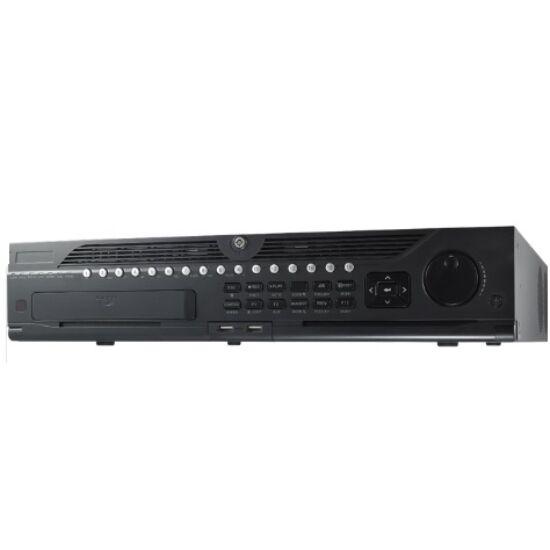 Hikvision DS-9664NI-I8/R 64 csatornás NVR; 320 Mbps rögzítési sávszélességgel; riasztási ki-/bemenettel; redundáns táp