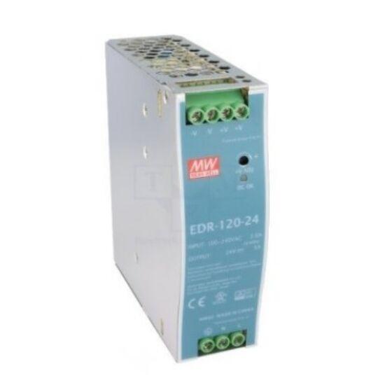 Mean Well DR-120-24 24V 120W DIN Rail tápegység