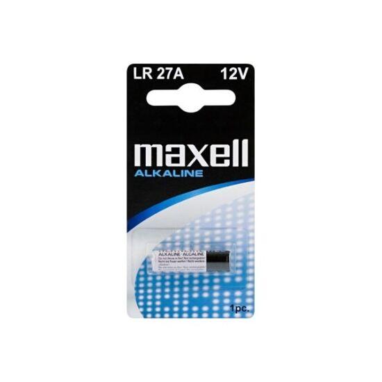 Maxell LR27 A alkáli elem, 12 V-os