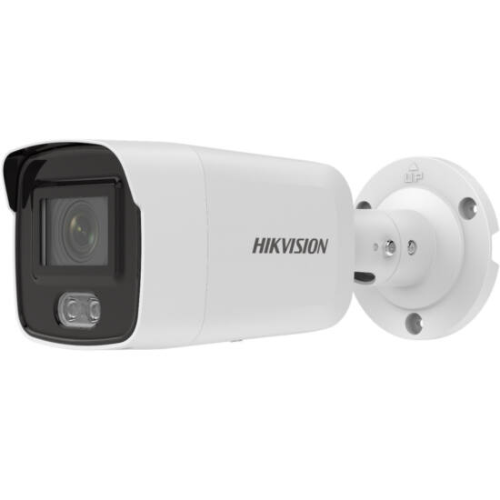 HIKVISION DS-2CD2027G2-L 2 MP WDR fix ColorVu AcuSense IP csőkamera; láthatófény;