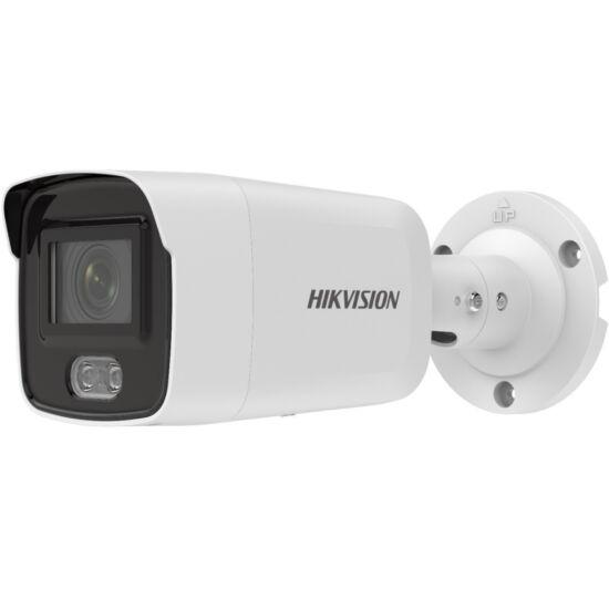 HIKVISION DS-2CD2047G2-L 4 MP WDR fix ColorVu AcuSense IP csőkamera; láthatófény; beépített mikrofon