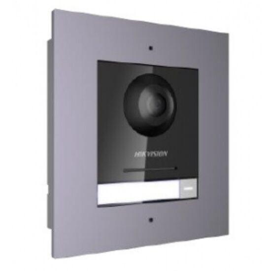 Hikvision DS-KD8003-IME1/Surface/EU IP video-kaputelefon kültéri főegység; fém; felületre szerelhető kötődobozzal