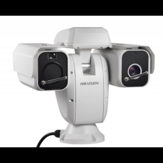 Hikvision DS-2TD6135-75B2L IP hőkamera és 2 MP WDR EXIR színes forgózsámolyos kamera