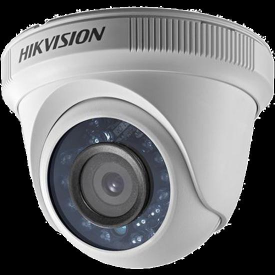 Hikvision DS-2CE56D0T-IRF 2 MP THD fix IR dómkamera; TVI/AHD/CVI/CVBS kimenet