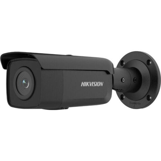 HIKVISION DS-2CD2T46G2-4I-B 4 MP AcuSense WDR fix EXIR IP csőkamera 80 m IR-távolsággal; fekete