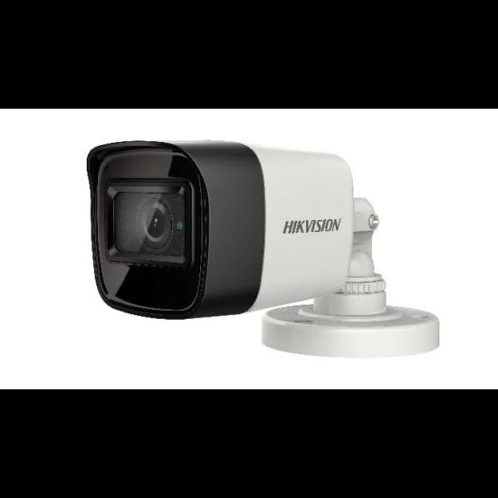Hikvision DS-2CE16H8T-ITF 5 MP THD WDR fix EXIR csőkamera; OSD menüvel; TVI/AHD/CVI/CVBS kimenet