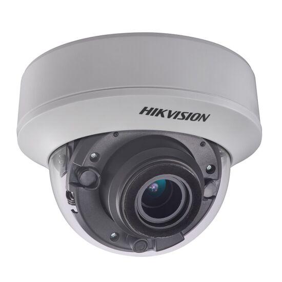 HIKVISION DS-2CE56H0T-AITZF 5 MP THD motoros zoom EXIR dómkamera; OSD menüvel; TVI/AHD/CVI/CVBS kimenet