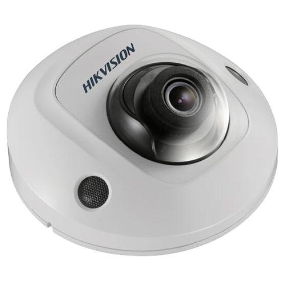 Hikvision DS-2CD2525FHWD-IS 2 MP WDR fix EXIR IP mini dómkamera hangkimenet és mikrofon 50 fps