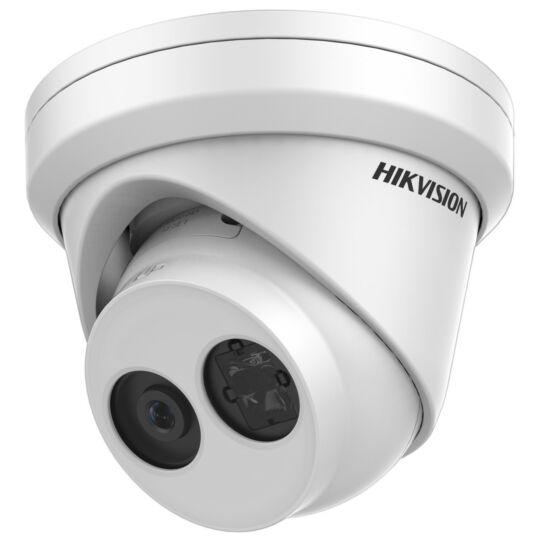 Hikvision IP turretkamera - DS-2CD2323G0-IU (2MP, 2,8mm, kültéri, H265+, IP67, IR30m, ICR, WDR, 3DNR, SD, PoE, audio)