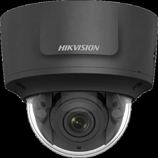 HIKVISION DS-2CD2763G1-IZS-B 6 MP WDR motoros zoom EXIR IP dómkamera; hang be- és kimenet; fekete