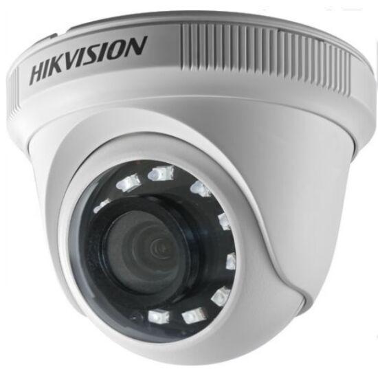 HIKVISION DS-2CE56D0T-IRPF-2-8MM 2 MP THD fix IR dómkamera; TVI/AHD/CVI/CVBS kimenet