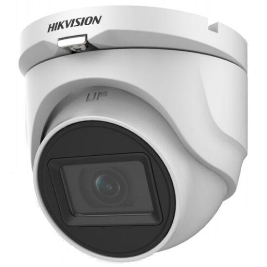HIKVISION DS-2CE76H0T-ITMF-2-4MM 5 MP THD fix EXIR dómkamera; OSD menüvel; TVI/AHD/CVI/CVBS kimenet