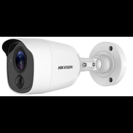 HIKVISION DS-2CE11D0T-PIRLO 2 MP THD fix EXIR csőkamera; OSD menüvel; PIR mozgásérzékelővel; riasztás kimenet