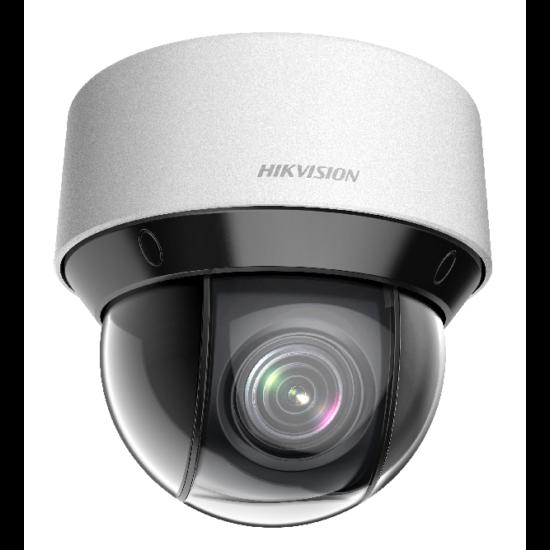 HIKVISION DS-2DE4A404IW-DE 4 MP DarkFighter IR IP mini PTZ dómkamera; 4x zoom; 12 VDC/PoE+