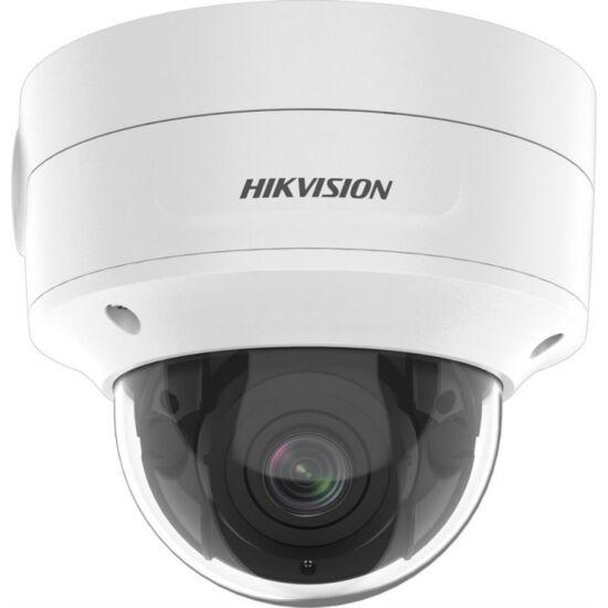 HIKVISION DS-2CD2726G2-IZS 2 MP WDR motoros zoom AcuSense EXIR IP dómkamera; hang I/O; integrált RJ45