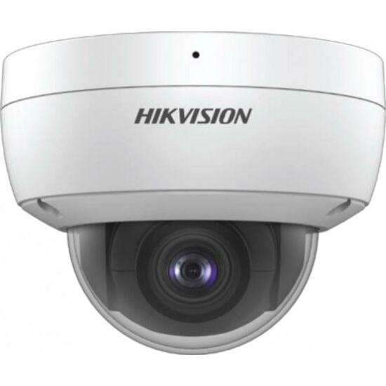 HIKVISION DS-2CD2123G0-IU 2 MP WDR fix EXIR IP dómkamera; beépített mikrofon