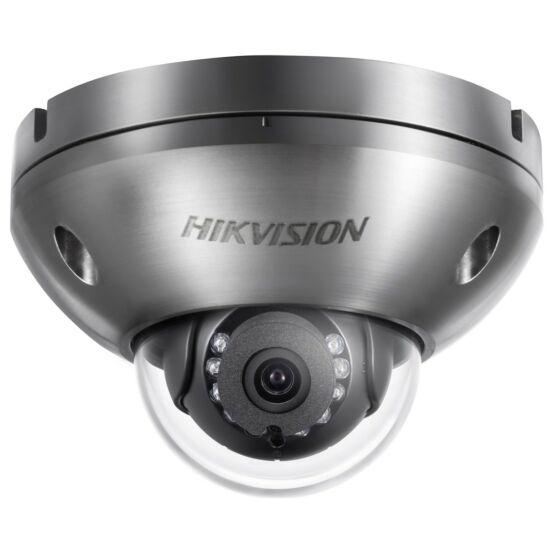 Hikvision DS-2XC6142FWD-IS 4 MP WDR korrózióálló fix IR IP dómkamera; hang be- és kimenet