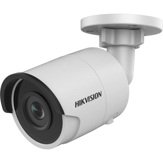 Hikvision IP csőkamera - DS-2CD2045FWD-I (4MP, 2,8mm, kültéri, H265+, IP67, IR30m, ICR, WDR, 3DNR, SD, PoE)