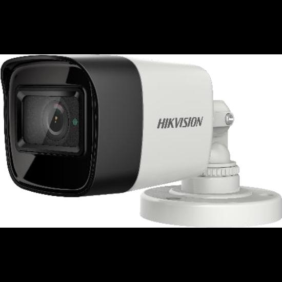 Hikvision DS-2CE16U1T-ITF 8 MP THD fix EXIR csőkamera; OSD menüvel; TVI/AHD/CVI/CVBS kimenet