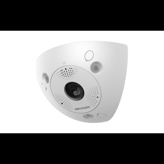 Hikvision DS-2CD6W32FWD-IVS 3 MP vandálbiztos WDR IR Smart IP sarok-panorámakamera hang be- és kimenet