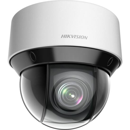 HIKVISION DS-2DE4A204IW-DE 2 MP DarkFighter IR IP mini PTZ dómkamera; 4x zoom; 12 VDC/PoE+