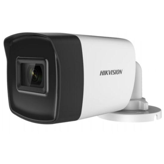 Hikvision DS-2CE16H0T-IT3F (C) 5 MP THD fix EXIR csőkamera; OSD menüvel; TVI/AHD/CVI/CVBS kimenet