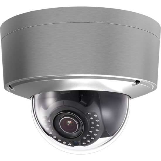 HIKVISION DS-2CD6626DS-IZHS 2 MP WDR DarkFighter motoros zoom IR Smart IP dómkamera; korrózióálló házban