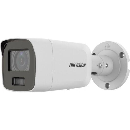 HIKVISION DS-2CD2087G2-LU 8 MP WDR fix ColorVu AcuSense IP csőkamera; láthatófény; beépített mikrofon