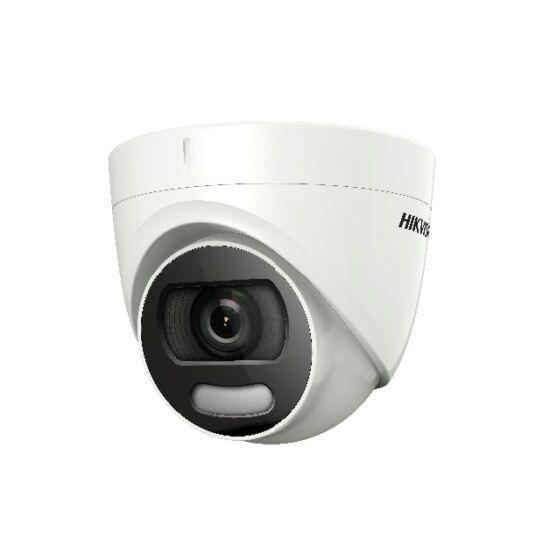 Hikvision 4in1 Analóg turretkamera - DS-2CE72DFT-F (2MP, 3,6mm, kültéri, fehér led:20M, D&N, IP67, WDR, ColorVu)