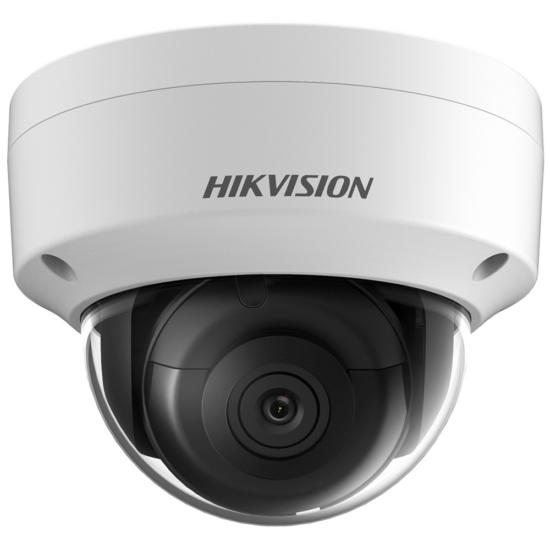 Hikvision IP dómkamera - DS-2CD2185FWD-IS (8MP, 2,8mm, kültéri, H265+, IP67, IR30m, ICR, WDR, BLC, SD, PoE, IK10, audio)